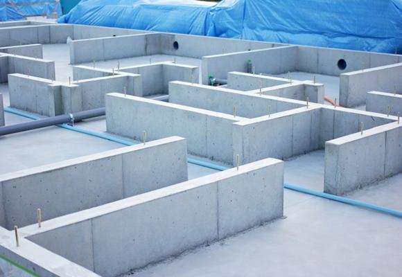 こだわりの頑丈基礎構造イメージ1